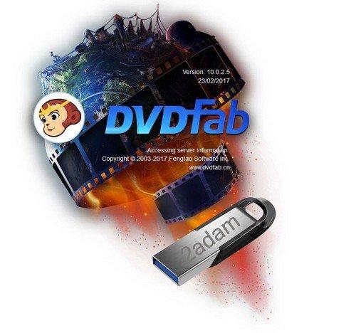 DVDFab 10.0.2.5 / BluFab 9.1.4.4 Portable (PL)