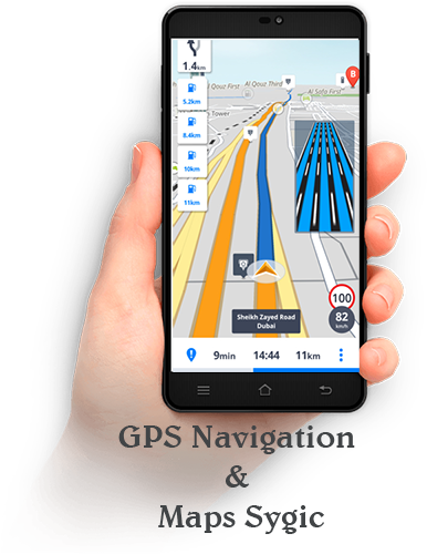 GPS Navigation & Maps Sygic v17.1.8  (PL) (Mapdownloader)