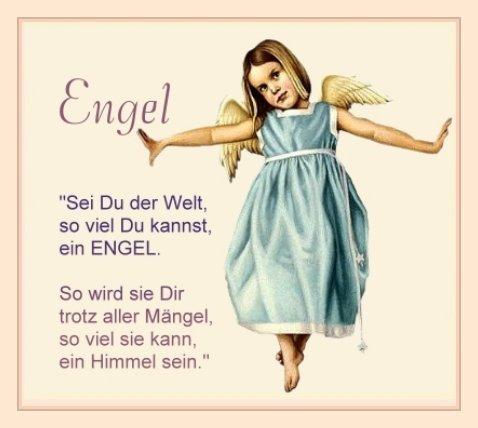 Engel und Elfen mit und ohne Sprüche   Klatsch und Tratsch