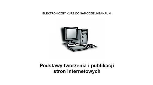 Elektroniczny kurs do samodzielnej nauki